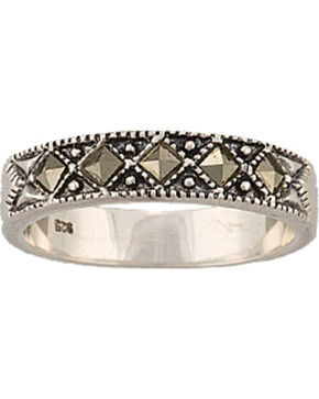 Montana Silversmiths Women's Sparks Will Fly Ring, Silver, hi-res