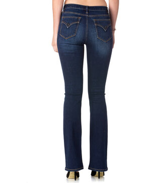 Miss Me Women's Stand Tall High-Rise Boot Cut Jeans , Indigo, hi-res