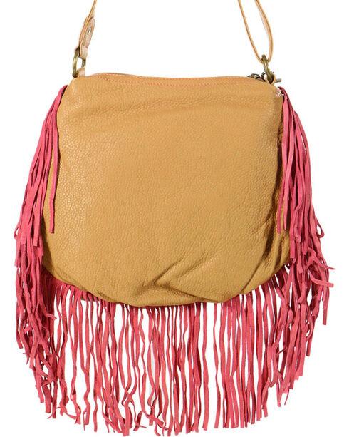 Way West Women's Hannah Fringe Crossbody Bag, Multi, hi-res