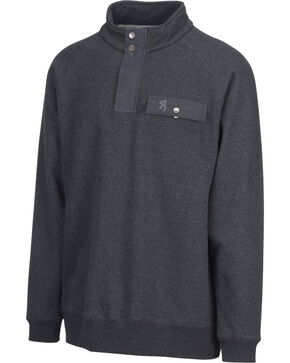 Browning Men's Black Boulder Sweatshirt, Black, hi-res