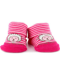 John Deere Newborn Lamb Bootie Socks, , hi-res