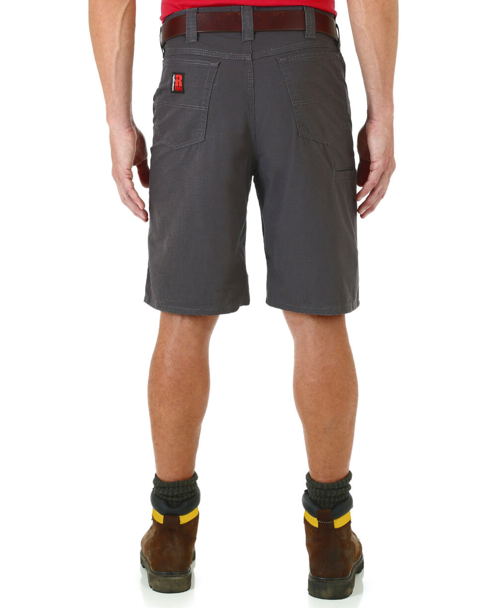 Wrangler Men's RIGGS WORKWEAR® Technician Shorts , Charcoal Grey, hi-res