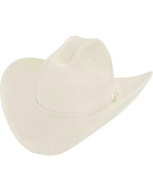 Larry Mahan 6X Real Fur Felt Western Hat, Ivory, hi-res