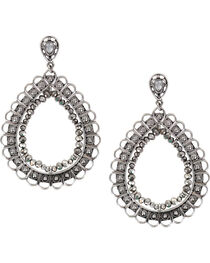 Shyanne® Women's Large Filigree Teardrop Earrings, , hi-res