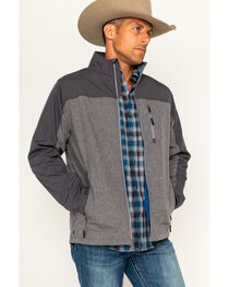 Cody James Men's Flannel Lined Softshell Jacket - Big & Tall, , hi-res