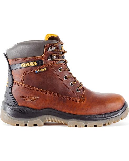 DeWalt Men's Titanium Waterproof Work Boots - Steel Toe, Brown, hi-res
