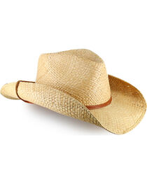 Stetson Straw Fashion Cowboy Hat, , hi-res