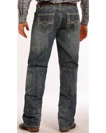 Tuf Cooper Performance Competition Fit Medium Wash Diamond Jeans - Straight Leg , , hi-res