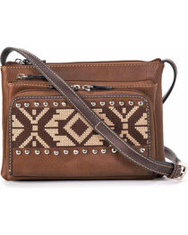 Blazin Roxx Shania Crossbody Bag, Brown, hi-res