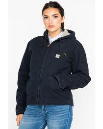 Carhartt Women's Sandstone Sierra Sherpa Lined Jacket, , hi-res
