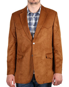 Cody James® Men's Solid Sport Coat, Rust Copper, hi-res
