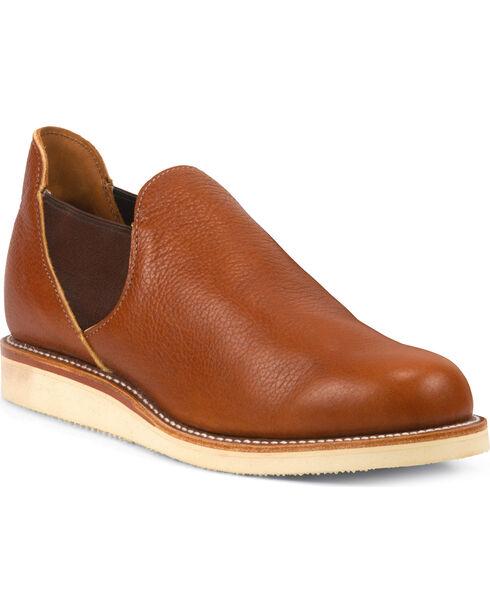 Chippewa Men's Original Romeo Saddle Shoes, Brown, hi-res