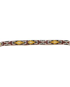 Southwest Beaded Stretch Hat Band, Multi, hi-res