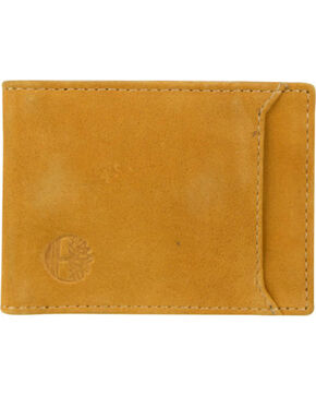 Timberland Men's Boot Leather Money Clip , Wheat, hi-res