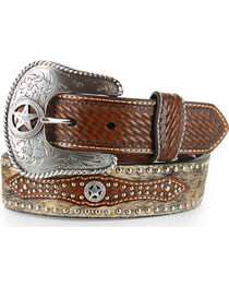 Cody James® Men's Hair on Hide Belt, , hi-res