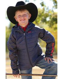 Cinch Boy's Quilted Raglan Jacket, , hi-res