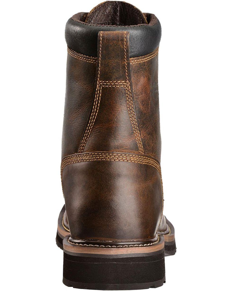 Justin Men's Stampede Steel Toe Lace-Up Work Boots, Rugged, hi-res
