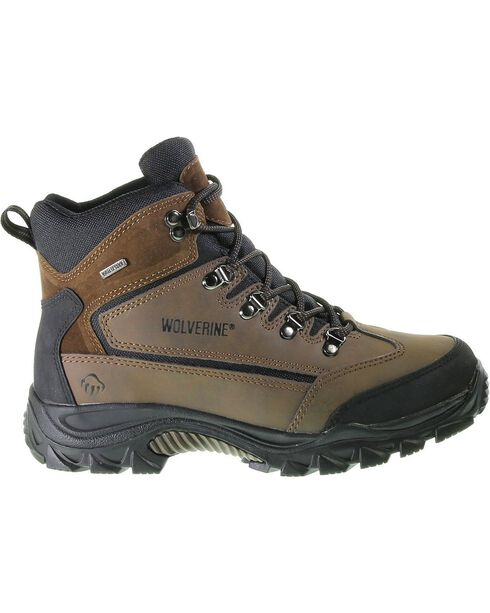 Wolverine Men's Spencer Waterproof Hiker Boots, Brown, hi-res