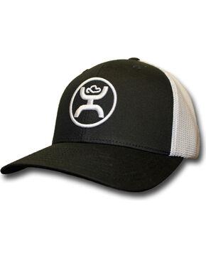 HOOey Men's Black and White Cody Ohl Signature Hat  , Black, hi-res