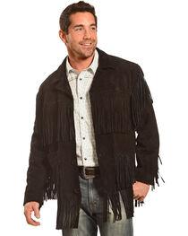 Liberty Wear Men's Suede Fringe Western Jacket , , hi-res