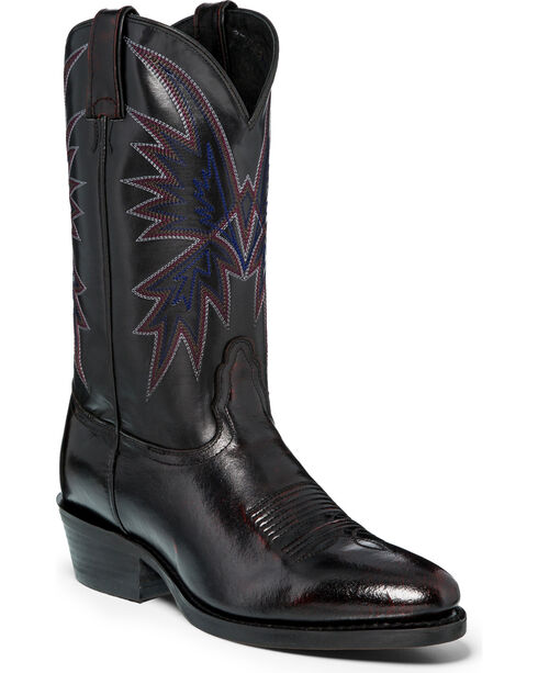 Nocona Men's Hero Western Boots, Black Cherry, hi-res