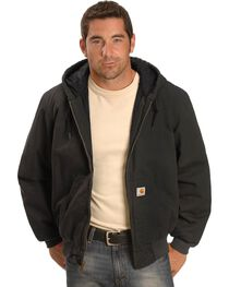 Carhartt Black Ripstop Active Jacket, , hi-res