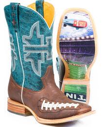 Tin Haul Men's Football Western Boots, , hi-res