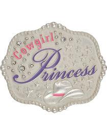 Montana Silversmiths Kid's Cowgirl Princess Belt Buckle, , hi-res