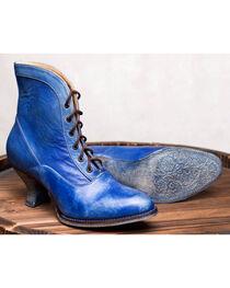 Oak Tree Farms Jacquelyn Blue Boots - Medium Toe, , hi-res