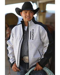 Cinch Men's Bonded Piece Print Jacket , , hi-res