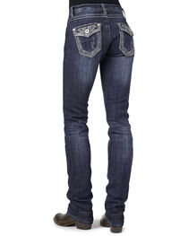 Stetson Women's Stovepipe Straight Leg Jeans, , hi-res