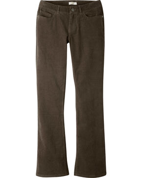 Mountain Khakis Women's Canyon Cord Slim Fit Pants - Petite, Dark Brown, hi-res