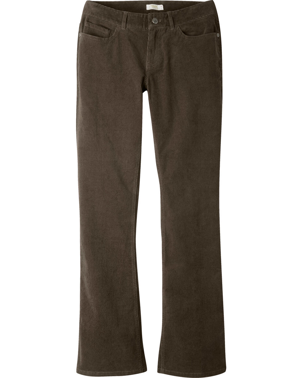 Mountain Khakis Women's Canyon Cord Slim Fit Pants, Brown, hi-res