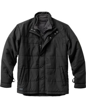 Dri Duck Men's Traverse Polyester Jacket - 3X & 4X, Black, hi-res