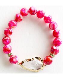 Everlasting Joy Jewelry Women's Flush Rose Arrowhead Bracelet , , hi-res