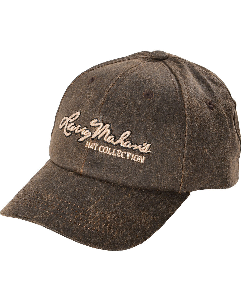 Larry Mahan Men's Brown Mahan Cap, Brown, hi-res