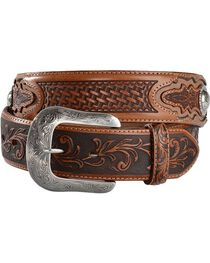 Tony Lama Ol' Wrangler Leather Belt, , hi-res