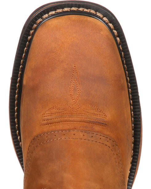 Rocky Men's Original Ride Western Boots, Tan, hi-res