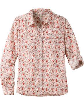 Mountain Khakis Women's Equatorial Long Sleeve Shirt, Pink, hi-res