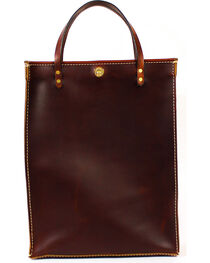 SouthLife Supply Brick Leather Magazine Tote, , hi-res