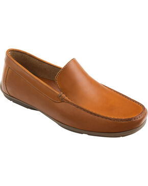 Eastland Men's Tan Talladega Driving Moc Loafers, Tan, hi-res