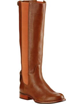 Ariat Women's Waverly Equestrian Boots, Tan, hi-res
