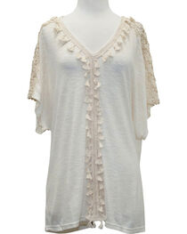 Young Essence Women's Boho Knit Tunic, , hi-res
