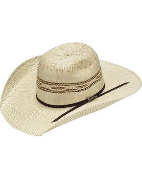 Twister Boys' Bangora Two Tone Cowboy Hat, Tan, hi-res
