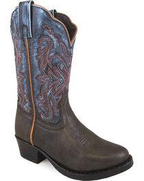 Smoky Mountain Girls' Fusion #1 Western Boots - Round Toe , , hi-res