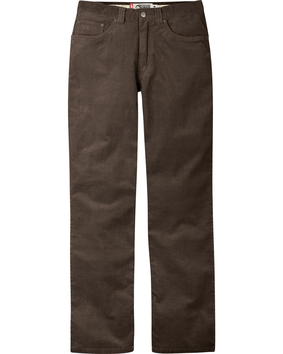 Mountain Khakis Men's Canyon Cord Classic Fit Pants, Chocolate, hi-res