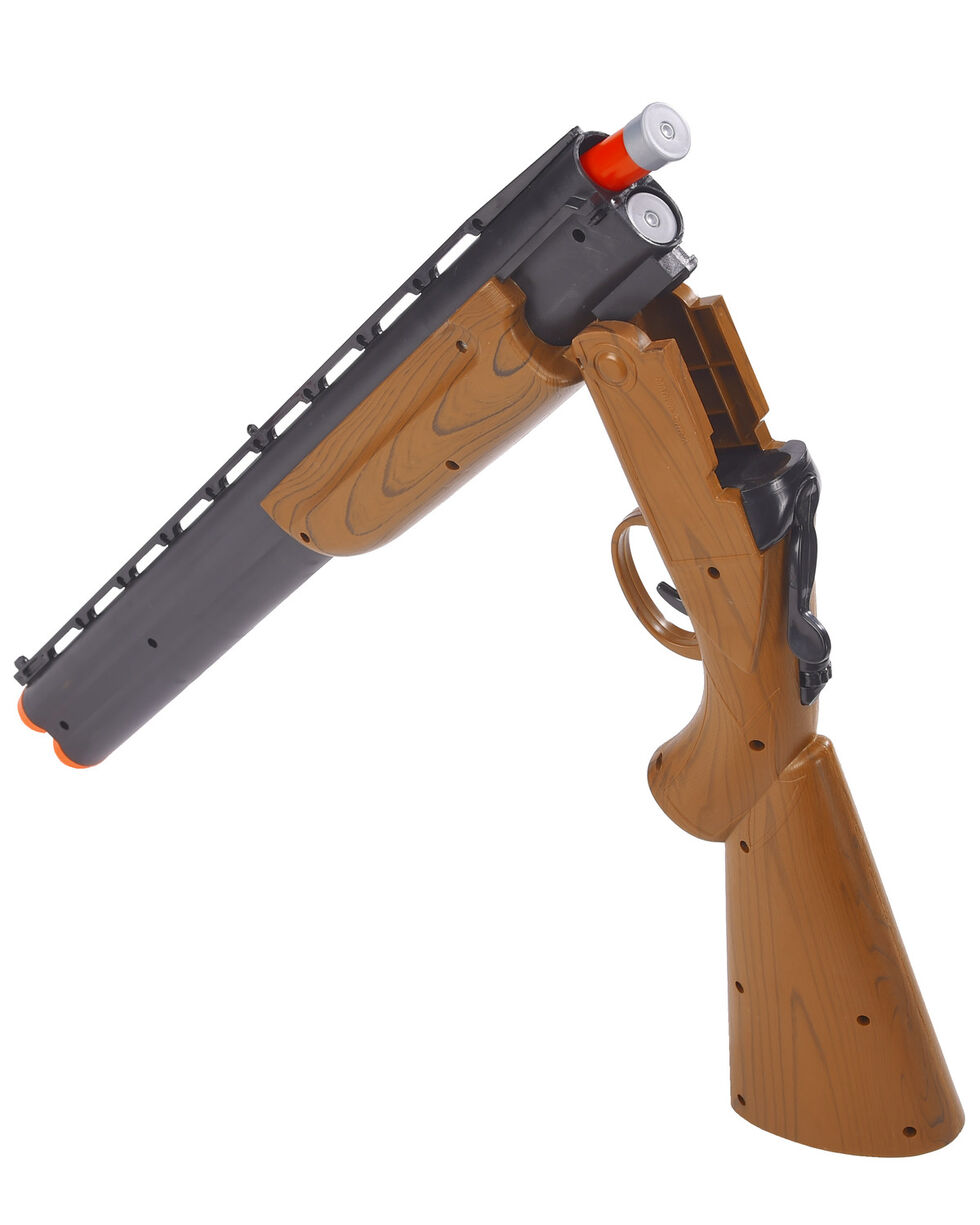 "Maxx Action 30"" Over/Under Shotgun Toy , Brown, hi-res"