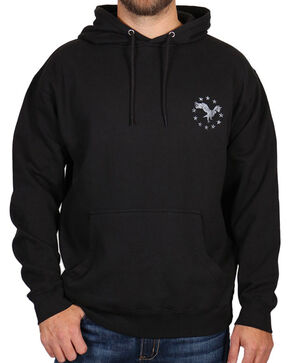 Cody James® Men's United Sweatshirt, Black, hi-res