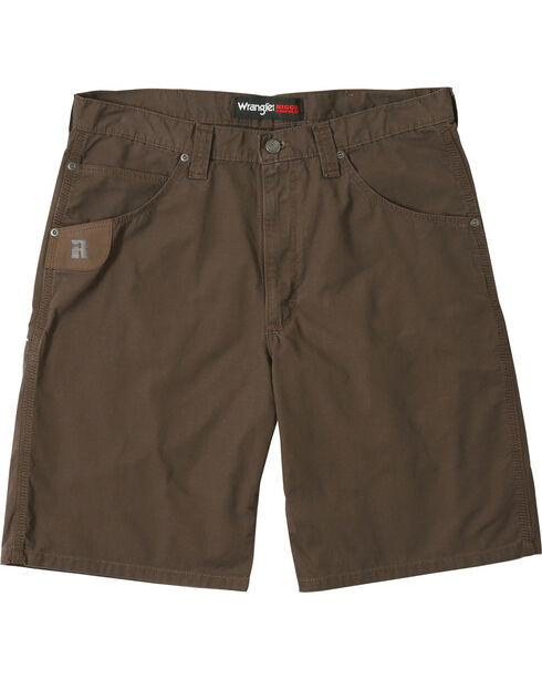 Wrangler Men's RIGGS WORKWEAR® Technician Shorts , Dark Brown, hi-res