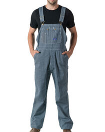 Walls Big Smith Men's Hickory Stripe Bib Overall, , hi-res